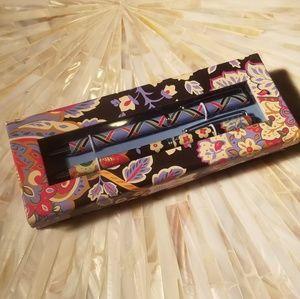 Vera Bradley Accessories - Vera Bradley Ball Point Pen  Mechanical Pencil Set